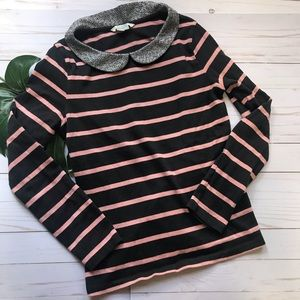 Boden Striped Collared Shirt
